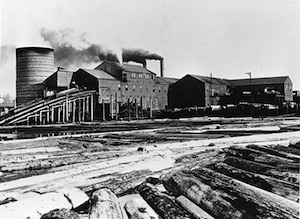 Sawmill, Englewood, B.C., JCCC Original Photographic Collection, 2001.4.105.