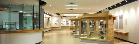 Inside of JCCC heritage department