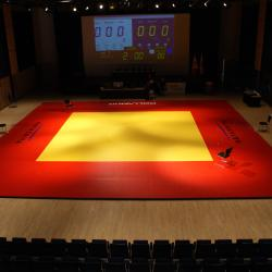 Kobayashi Hall martial arts setup