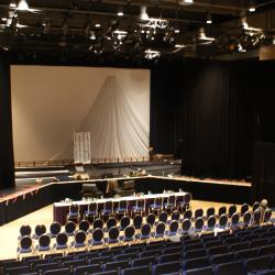 Kobayashi Hall theatre stage setup